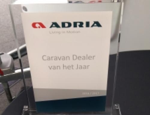 Caravanbedrijf van het Jaar 2016 / 2017