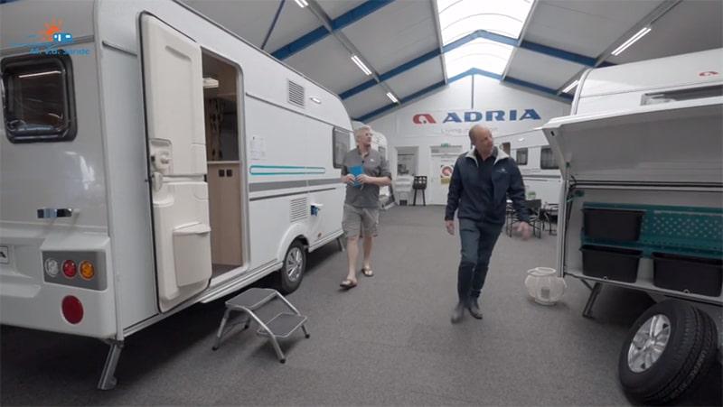 Video Caravanbedrijf M van der Sande tijdens Corona